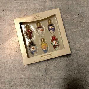 NWT Hallmark Merry & Bright Holiday Ornaments 2006